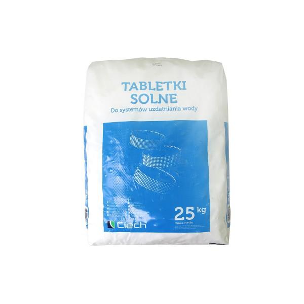 Таблетированная соль Ciech 25 кг (Польша)